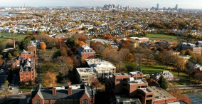Overview of Tufts University Campus